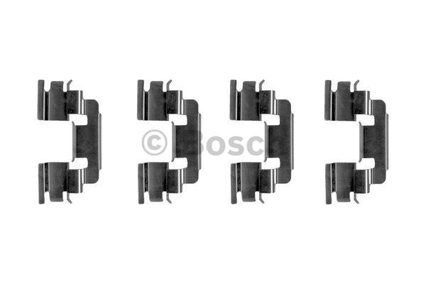 Kit d'accessoires, plaquette de frein à disque - BOSCH - 1 987 474 383