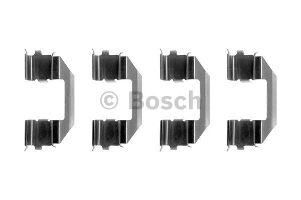 Kit d'accessoires, plaquette de frein à disque - BOSCH - 1 987 474 385