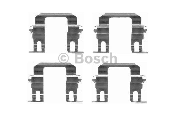 Kit d'accessoires, plaquette de frein à disque - BOSCH - 1 987 474 388