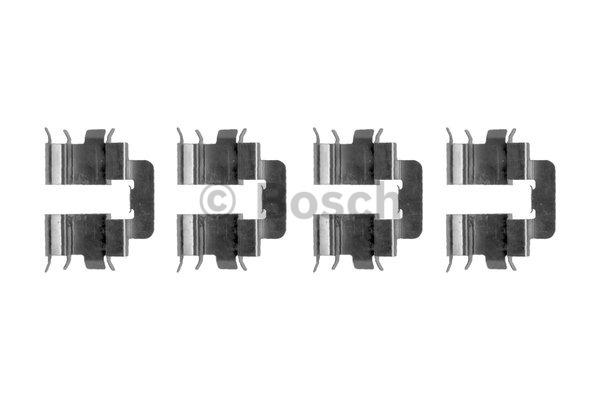 Kit d'accessoires, plaquette de frein à disque - BOSCH - 1 987 474 389