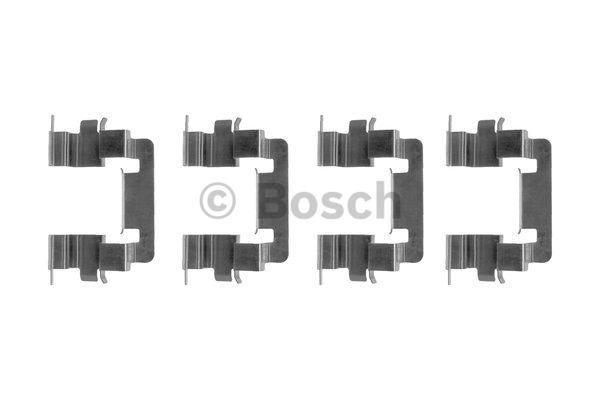 Kit d'accessoires, plaquette de frein à disque - BOSCH - 1 987 474 390