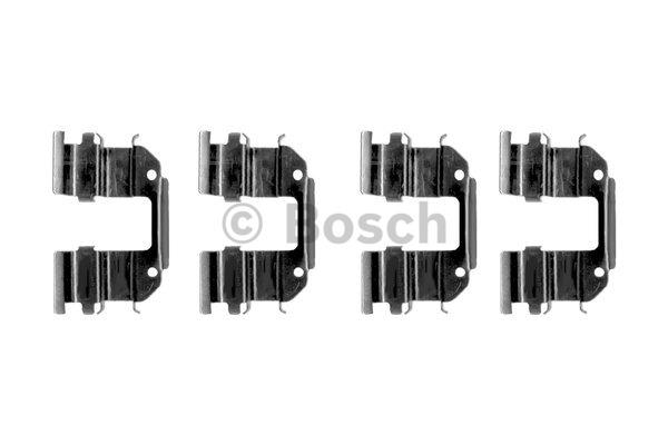 Kit d'accessoires, plaquette de frein à disque - BOSCH - 1 987 474 393