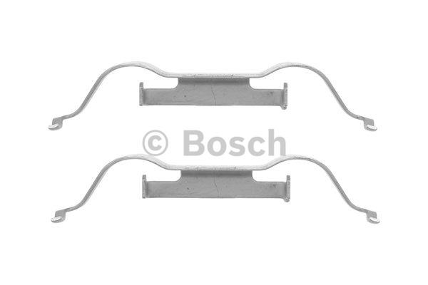 Kit d'accessoires, plaquette de frein à disque - BOSCH - 1 987 474 395