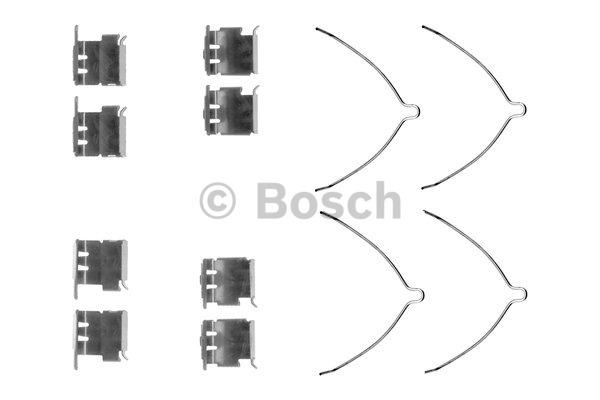 Kit d'accessoires, plaquette de frein à disque - BOSCH - 1 987 474 396