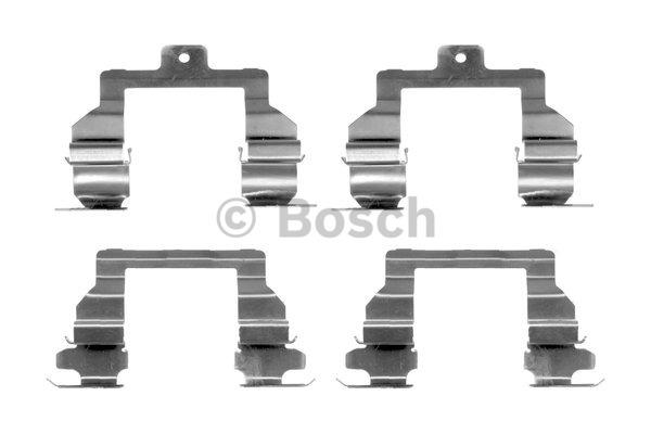 Kit d'accessoires, plaquette de frein à disque - BOSCH - 1 987 474 397