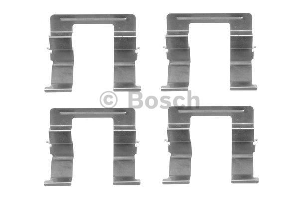 Kit d'accessoires, plaquette de frein à disque - BOSCH - 1 987 474 400