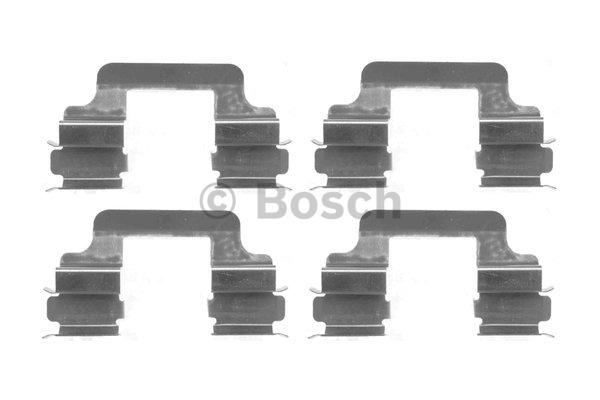 Kit d'accessoires, plaquette de frein à disque - BOSCH - 1 987 474 402