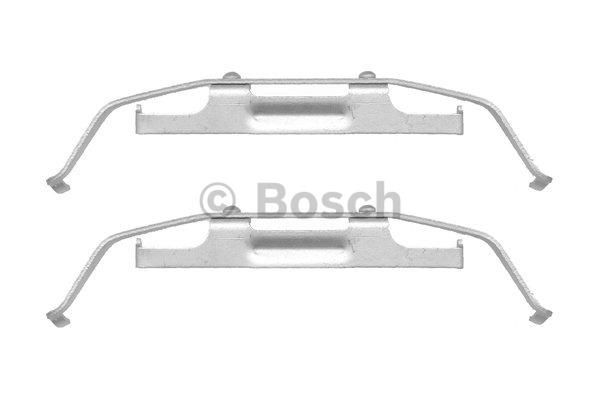 Kit d'accessoires, plaquette de frein à disque - BOSCH - 1 987 474 410