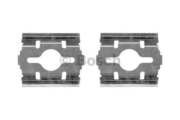 Kit d'accessoires, plaquette de frein à disque - BOSCH - 1 987 474 417