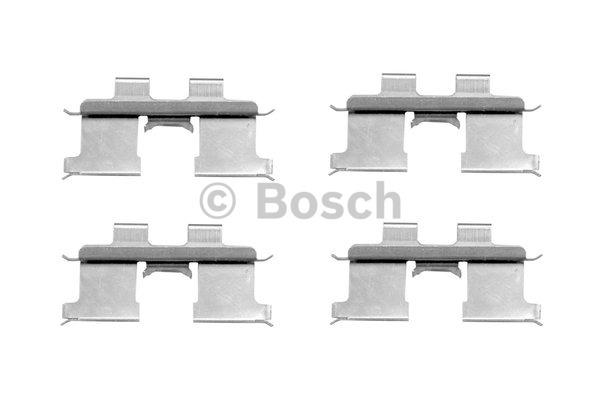 Kit d'accessoires, plaquette de frein à disque - BOSCH - 1 987 474 423