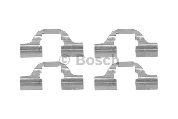 Kit d'accessoires, plaquette de frein à disque - BOSCH - 1 987 474 435