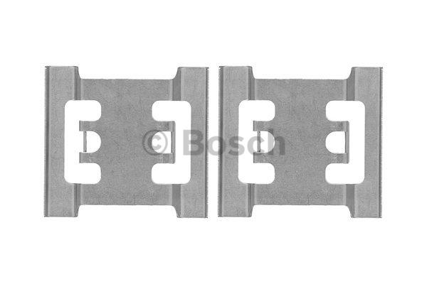 Kit d'accessoires, plaquette de frein à disque - BOSCH - 1 987 474 437