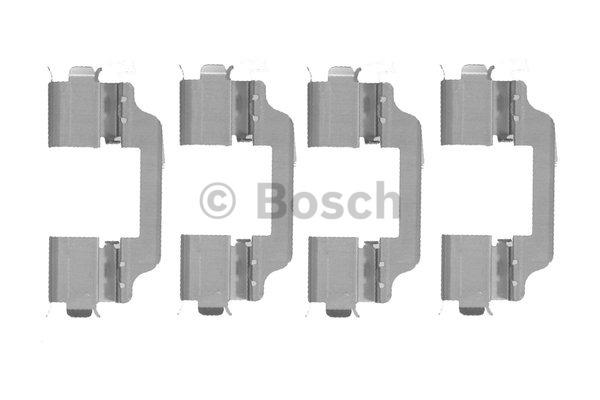 Kit d'accessoires, plaquette de frein à disque - BOSCH - 1 987 474 446