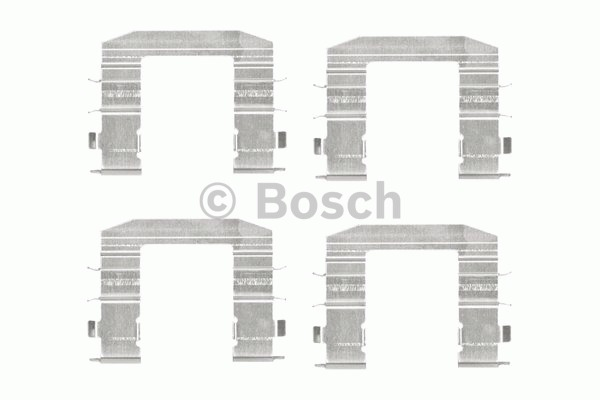 Kit d'accessoires, plaquette de frein à disque - BOSCH - 1 987 474 447