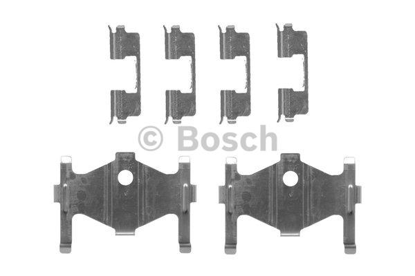 Kit d'accessoires, plaquette de frein à disque - BOSCH - 1 987 474 448