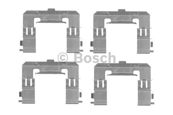 Kit d'accessoires, plaquette de frein à disque - BOSCH - 1 987 474 450
