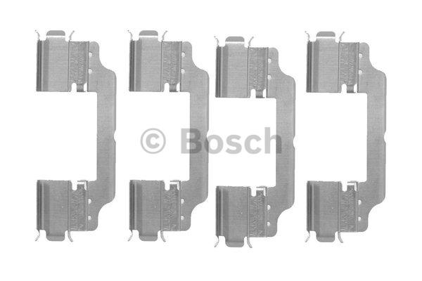 Kit d'accessoires, plaquette de frein à disque - BOSCH - 1 987 474 451