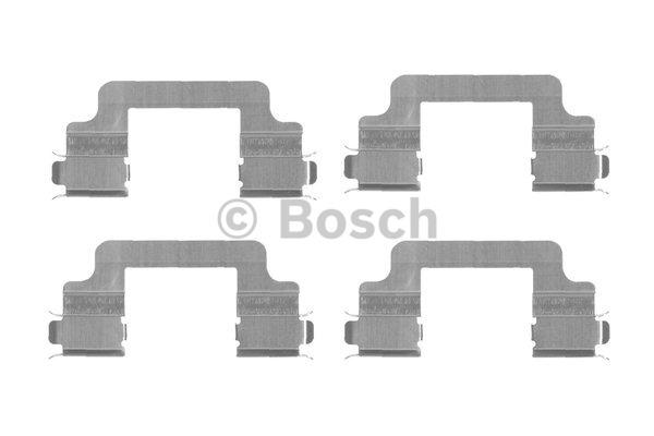 Kit d'accessoires, plaquette de frein à disque - BOSCH - 1 987 474 455