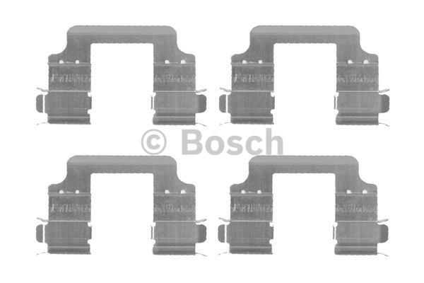 Kit d'accessoires, plaquette de frein à disque - BOSCH - 1 987 474 456