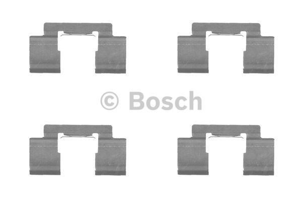 Kit d'accessoires, plaquette de frein à disque - BOSCH - 1 987 474 457