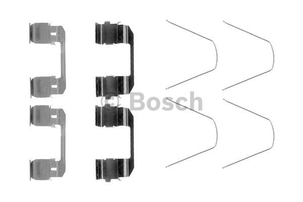 Kit d'accessoires, plaquette de frein à disque - BOSCH - 1 987 474 466