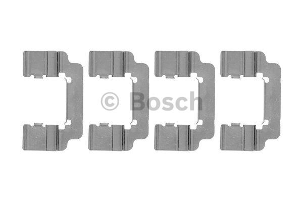Kit d'accessoires, plaquette de frein à disque - BOSCH - 1 987 474 481