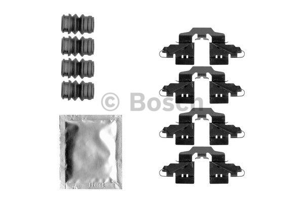 Kit d'accessoires, plaquette de frein à disque - BOSCH - 1 987 474 484