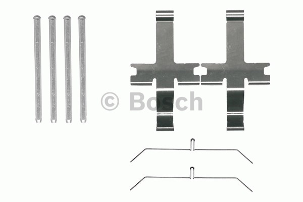 Kit d'accessoires, plaquette de frein à disque - BOSCH - 1 987 474 485