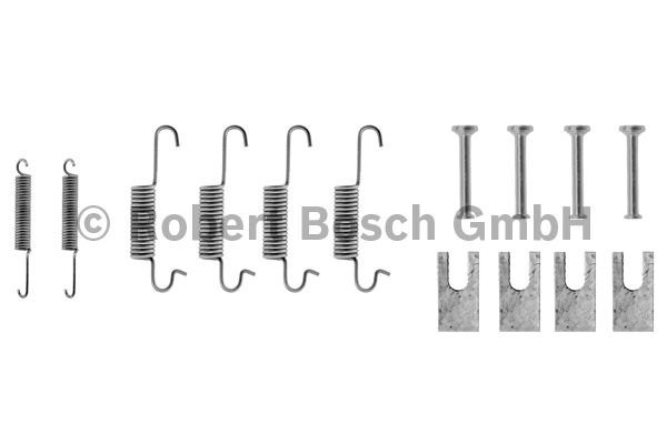 Kit d'accessoires, mâchoire de frein - BOSCH - 1 987 475 008
