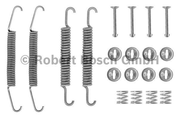Kit d'accessoires, mâchoire de frein - BOSCH - 1 987 475 028