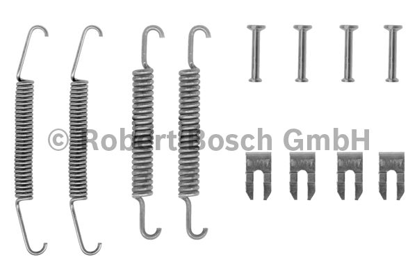 Kit d'accessoires, mâchoire de frein - BOSCH - 1 987 475 029