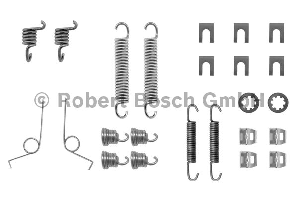 Kit d'accessoires, mâchoire de frein - BOSCH - 1 987 475 030