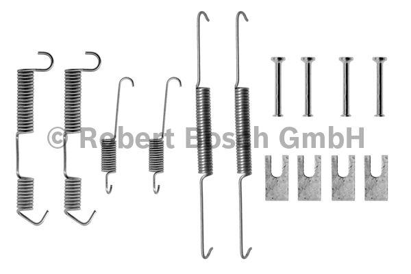 Kit d'accessoires, mâchoire de frein - BOSCH - 1 987 475 091