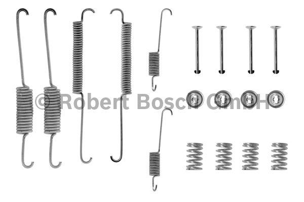 Kit d'accessoires, mâchoire de frein - BOSCH - 1 987 475 092