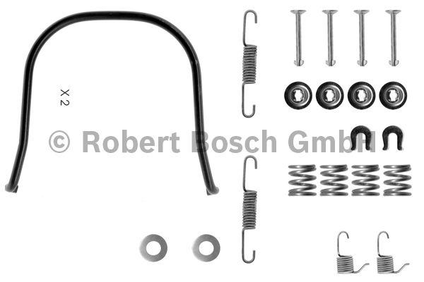 Kit d'accessoires, mâchoire de frein - BOSCH - 1 987 475 095