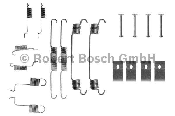 Kit d'accessoires, mâchoire de frein - BOSCH - 1 987 475 123