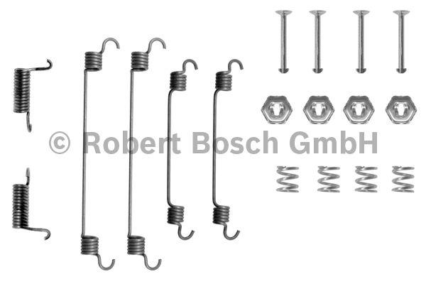 Kit d'accessoires, mâchoire de frein - BOSCH - 1 987 475 125