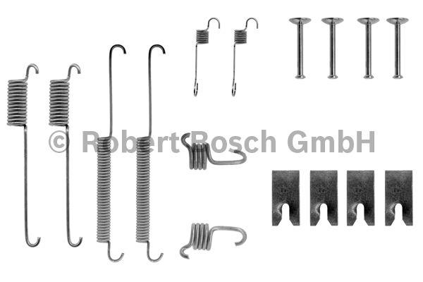 Kit d'accessoires, mâchoire de frein - BOSCH - 1 987 475 126