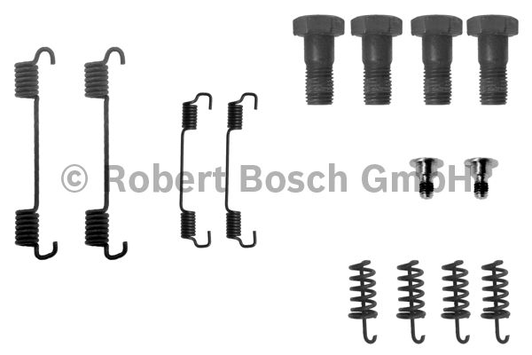 Kit d'accessoires, mâchoire de frein - BOSCH - 1 987 475 132