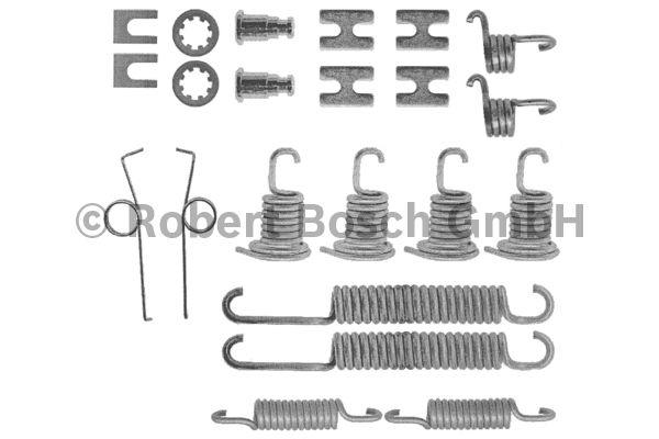 Kit d'accessoires, mâchoire de frein - BOSCH - 1 987 475 141