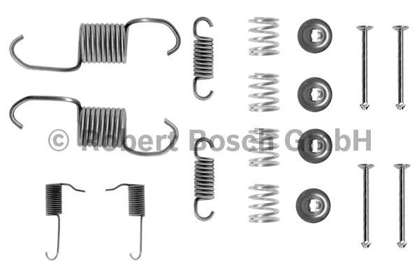 Kit d'accessoires, mâchoire de frein - BOSCH - 1 987 475 144