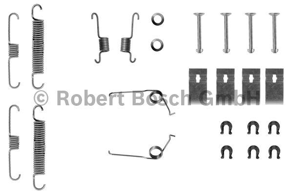 Kit d'accessoires, mâchoire de frein - BOSCH - 1 987 475 147