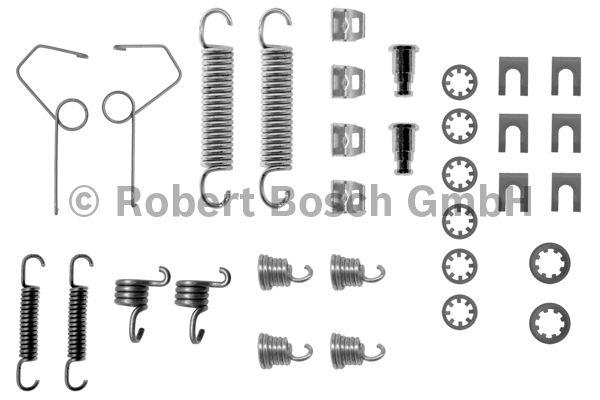Kit d'accessoires, mâchoire de frein - BOSCH - 1 987 475 152
