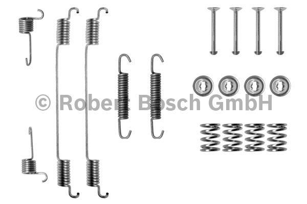 Kit d'accessoires, mâchoire de frein - BOSCH - 1 987 475 155