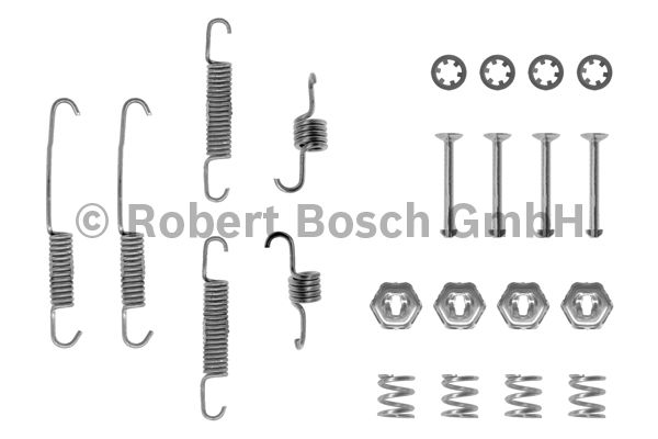 Kit d'accessoires, mâchoire de frein - BOSCH - 1 987 475 161