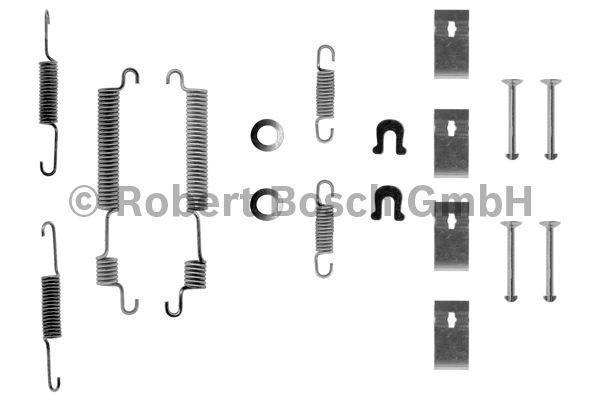 Kit d'accessoires, mâchoire de frein - BOSCH - 1 987 475 176