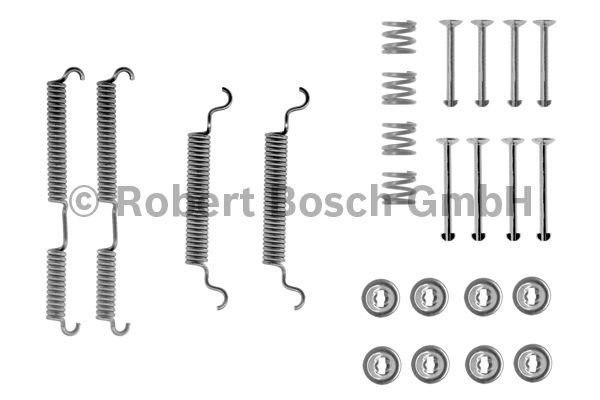Kit d'accessoires, mâchoire de frein - BOSCH - 1 987 475 202