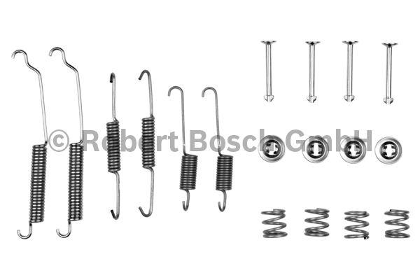 Kit d'accessoires, mâchoire de frein - BOSCH - 1 987 475 205