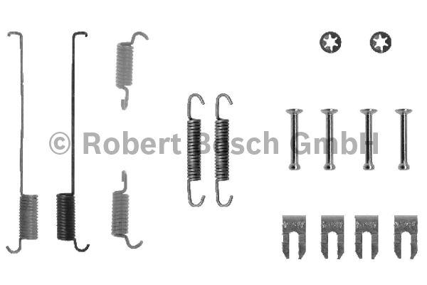 Kit d'accessoires, mâchoire de frein - BOSCH - 1 987 475 219