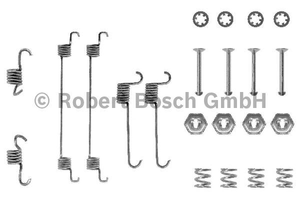 Kit d'accessoires, mâchoire de frein - BOSCH - 1 987 475 220